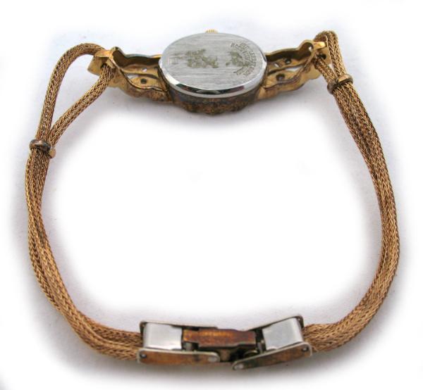 10 000 Up Diamond: VINTAGE GRUEN GENUINE DIAMONDS Wristwatch Ladies WATCH 1