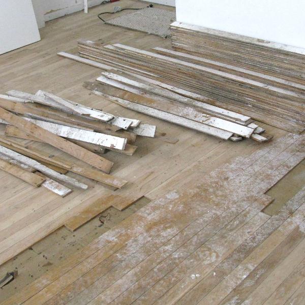 Vintage old 1960 39 s solid wood floor flooring 2 wide for 1960s floor tiles